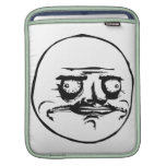Me Gusta Face with Text iPad Sleeves