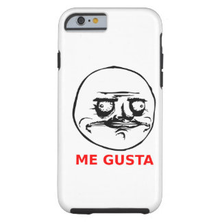 Me Gusta Face with Text iPhone 6 Case