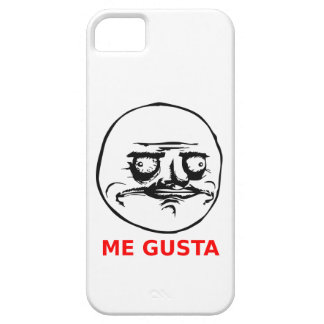 Me Gusta Face with Text iPhone SE/5/5s Case