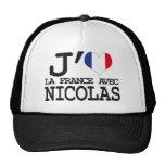 Me gusta Francia con Nicolas Gorras De Camionero