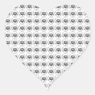 Me Gusta Heart Sticker