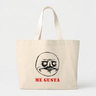 Me Gusta - meme Tote Bags