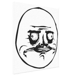 Me Gusta Meme Canvas Print