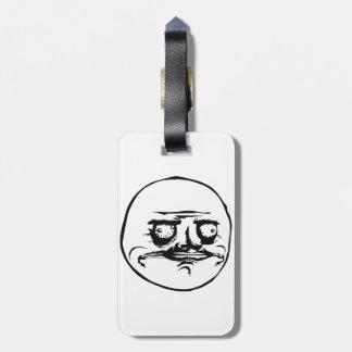 Me Gusta Meme Luggage Tag