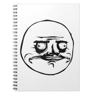 Me Gusta Meme Note Book