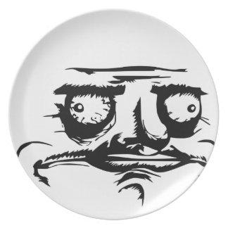 Me Gusta Meme Party Plate
