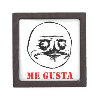 Me Gusta - meme Premium Keepsake Box