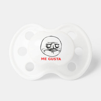 Me Gusta meme with text BooginHead Pacifier