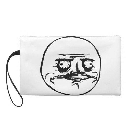 Me Gusta Meme Wristlet Clutch