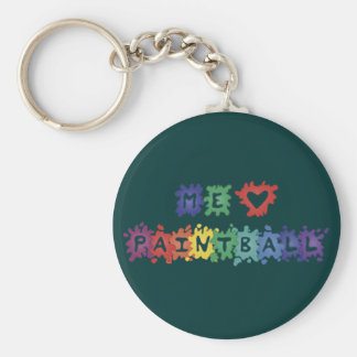 Me gusta Paintball Keychains