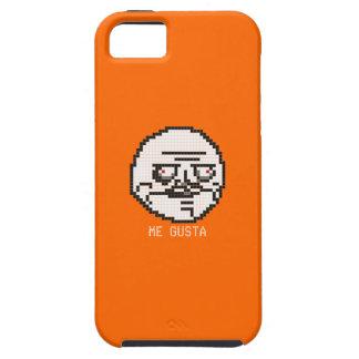 Me Gusta Pixel Art Meme (Orange) iPhone SE/5/5s Case