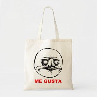 Me Gusta Rage Face Meme Budget Tote Bag