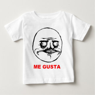 Me Gusta (text) Baby T-Shirt