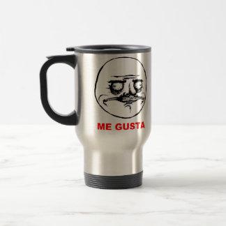 Me Gusta (text) Travel Mug