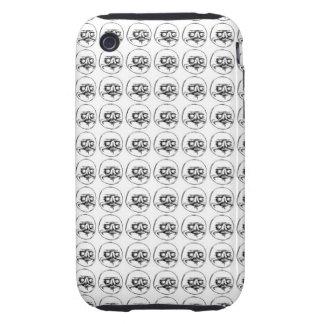 Me Gusta Tough iPhone 3 Case