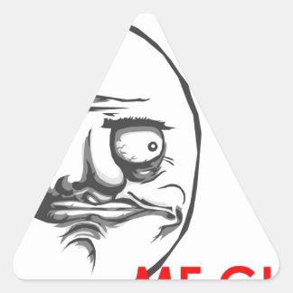 Me Gusta Triangle Sticker