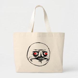 Me Gusta Valentine in Love - meme Tote Bag