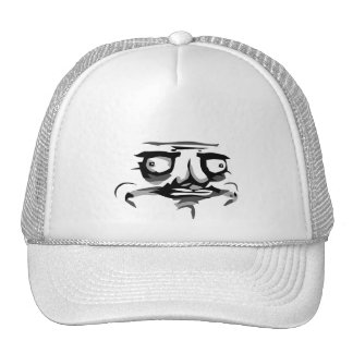 me gusta web comic face trucker hat
