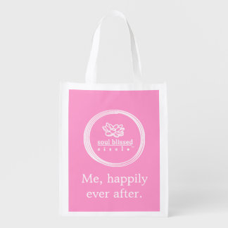 Me, happily ever after. Reusable bag Market Tote