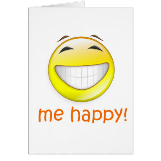 Me Happy Card