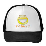 Me Happy Mesh Hat
