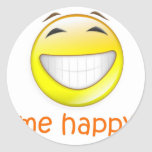 Me Happy Sticker