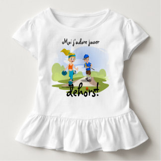 Me I adore to play outside! Toddler T-shirt