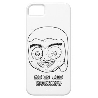 ME IN THE MORNING iPhone 5 CASE