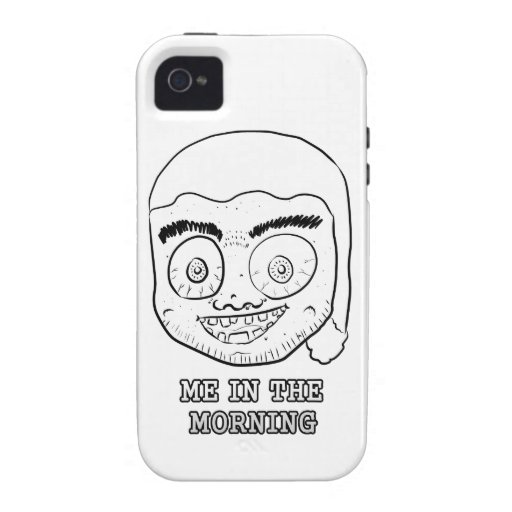 ME IN THE MORNING VIBE iPhone 4 CASE