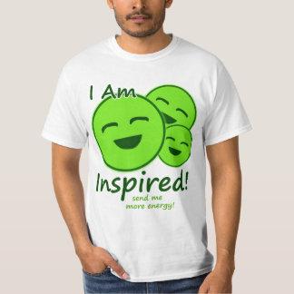 """""""Me inspiran!"""" Camiseta de los juegos Poleras"""