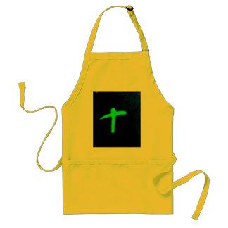 me irish cross adult apron