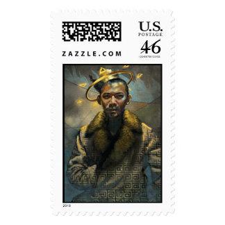 Me King Postage Stamps