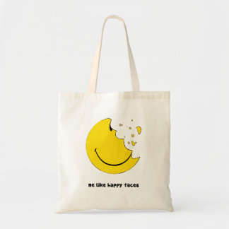 me like happy faces bag