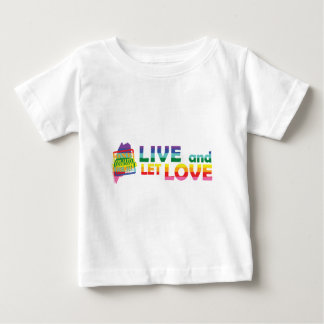 ME Live Let Love Baby T-Shirt