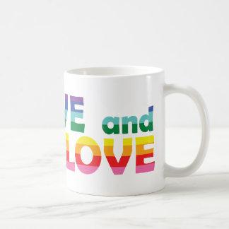 ME Live Let Love Coffee Mug