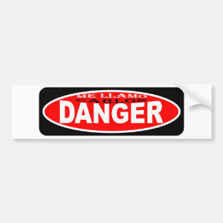 Me llamo Carlos Danger aka Anthony Weiner Bumper Sticker