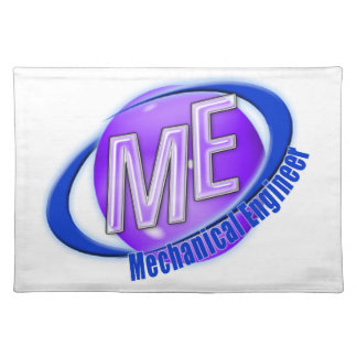 ME LOGO MECHANICAL ENGINEER PLACEMAT