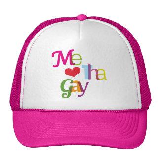 Me love the gay fun gay pride hat