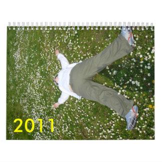 me lying in daisies, 2011 calendar
