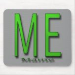 ME Maine green Mouse Pad