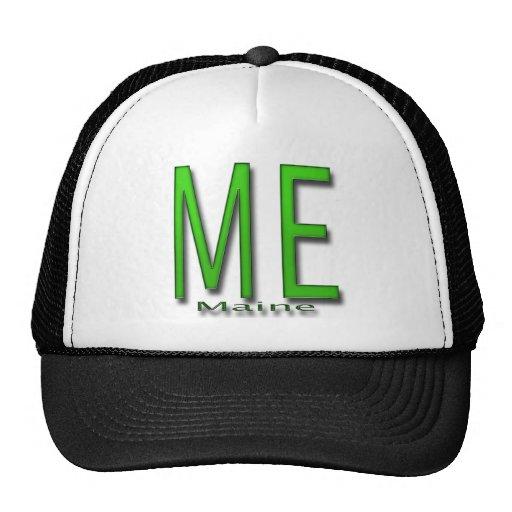 ME Maine green Trucker Hat