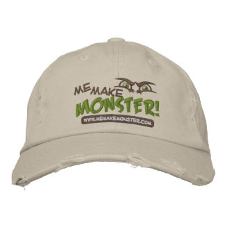 Me Make Monster Logo Baseball Cap (Embroidered)