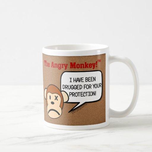 Me mantienen sedado para su protección tazas