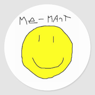Me-Mart Classic Round Sticker