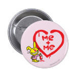 Me + Me 2 Inch Round Button