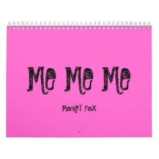 ME ME ME, MONKEY FOX CALENDAR