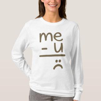 Me Minus You Equals Sad Face Women's Tee Shirt