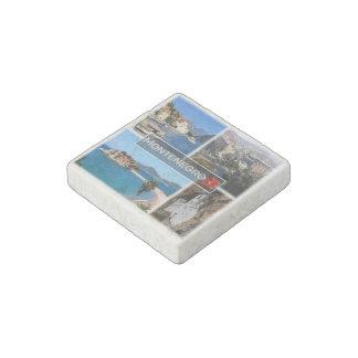 ME Montenegro - Podgorica - Roman Square - Stone Magnet