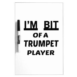 Me muerden de un jugador de trompeta pizarras blancas de calidad