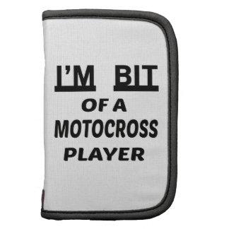 Me muerden de un jugador del motocrós